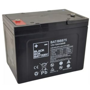 75ah Black Box Battrey